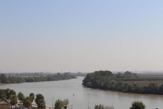 El Guadalquivir a su paso por Coria del Río
