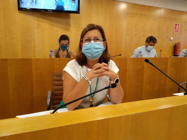 Carmen Santa María, portavoz de Cs en la Diputación de Sevilla