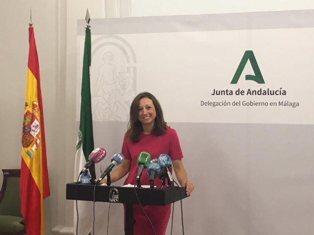 Patricia Navarro, delegada de la Junta de Andalucía en Málaga