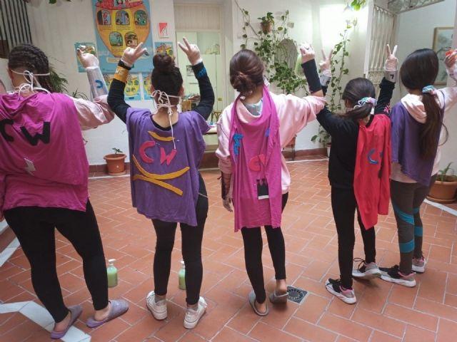 Menores en centros de acogida del IAM
