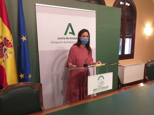 Cristina Casanueva en rueda de prensa