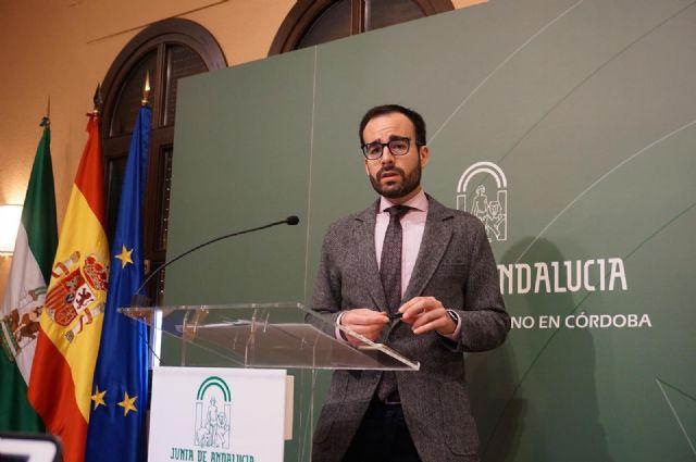 El delegado de Empleo y Economía, Ángel Herrador