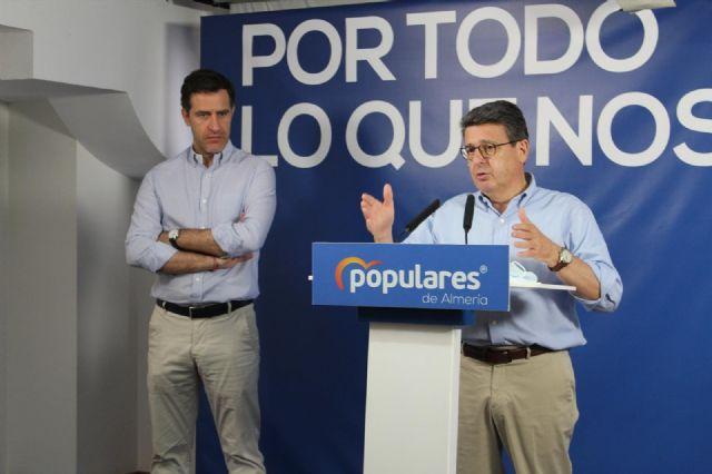 Miguel Ángel Castellón y Juan José Matarí (PP)