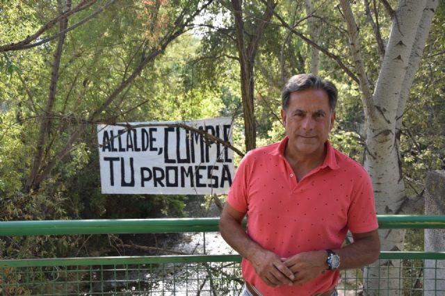 El PP lamenta la nueva tomadura de pelo del alcalde con el paraje natural de los Cañones