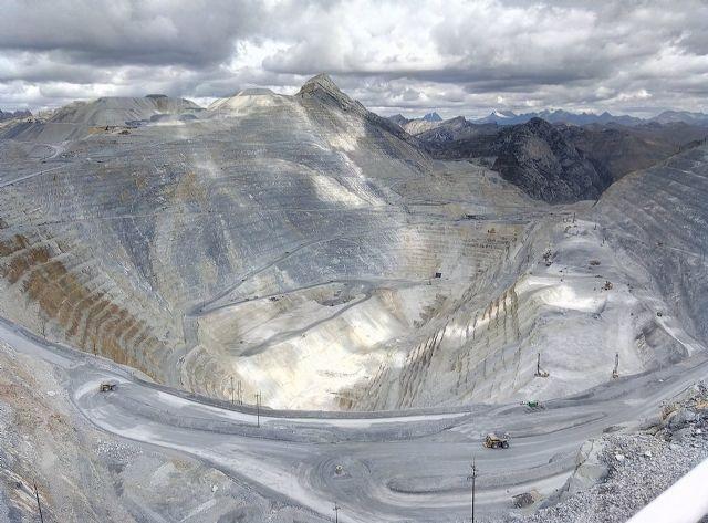 Mina de Antamina, en Perú