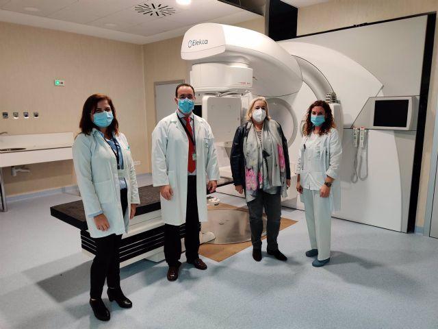 Nuevo acelerador lineal de radioterapia en el Juan Ramón Jiménez de Huelva