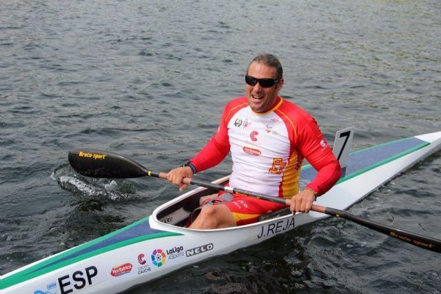 El palista español con discapacidad física Javier Reja