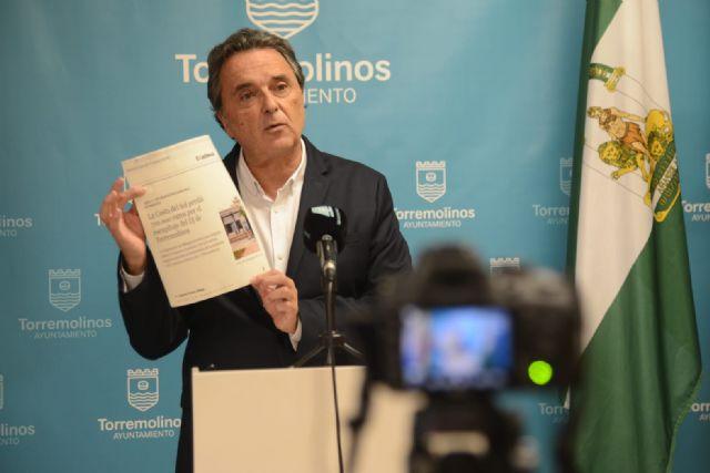 El alcalde de Torremolinos, José Ortiz