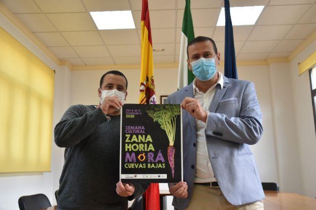 Manuel Lara Pedrosa y Juan José Lara Cobos durante la presentación de la Semana Cultural Zanahoria Morá
