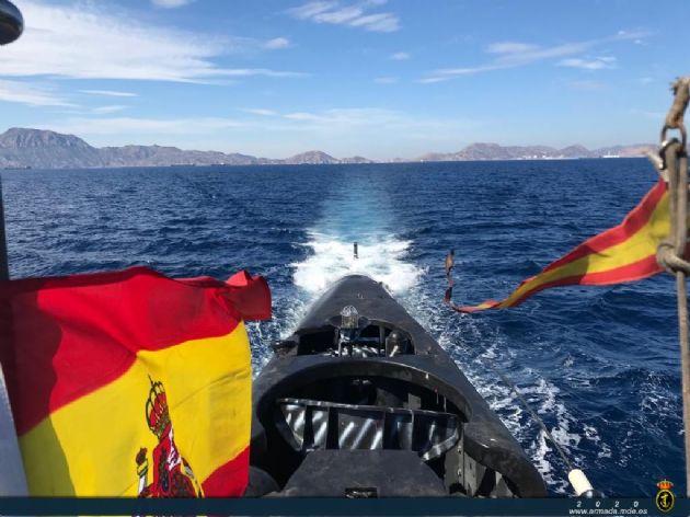 Unidades de la Armada realizan adiestramiento conjunto en aguas del norte peninsular MAR _31