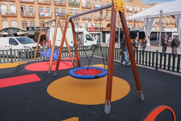 Parque infantil 100% inclusivo
