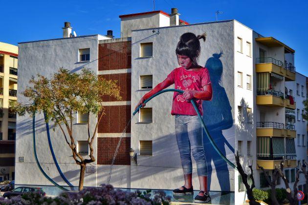 Ruta de murales artísticos en Estepona