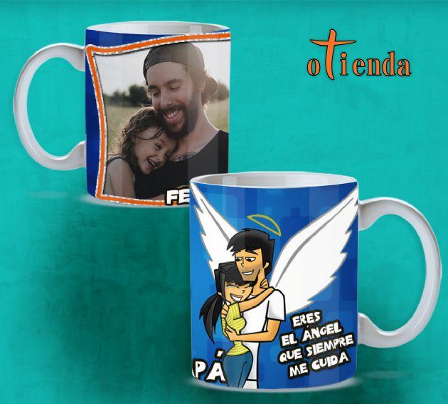 Tazas Día del Padre personalizadas de cerámica