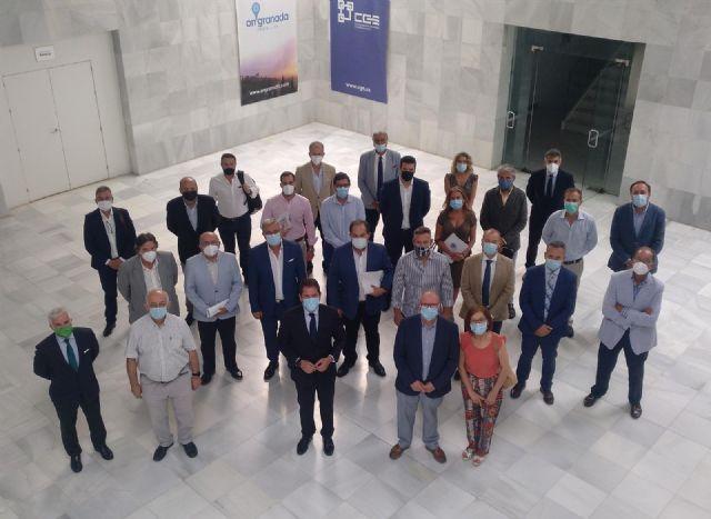 Reunión en la Confederación Granadina de Empresarios (CGE)