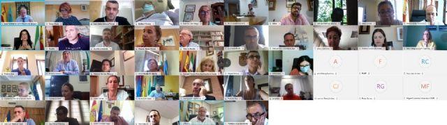 Reunión virtual de los órganos de gobierno de la FAMP