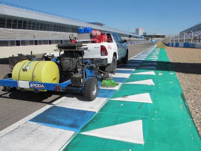 Preparativos para la vuelta a la actividad en el Circuito de Jerez