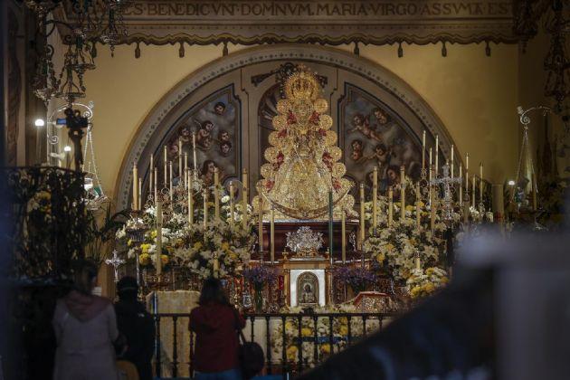 La Virgen del Rocío en la parroquia de La Asunción de Almonte (Huelva) - María José López - Europa Press