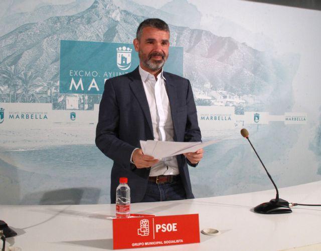 El concejal portavoz del Grupo Municipal Socialista, José Bernal