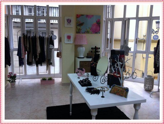 Showroom de moda en el centro de Málaga