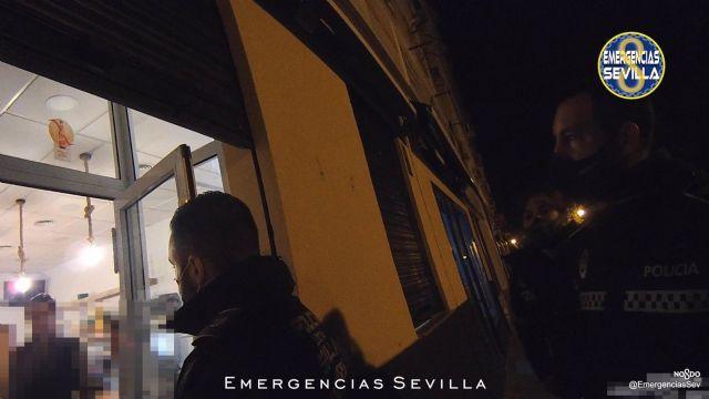 Actuación de la Policía Local en Pino Montano