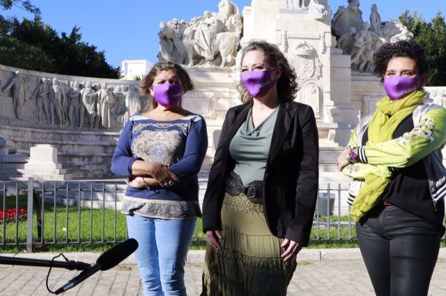 Las dirigentes de Podemos en Cádiz