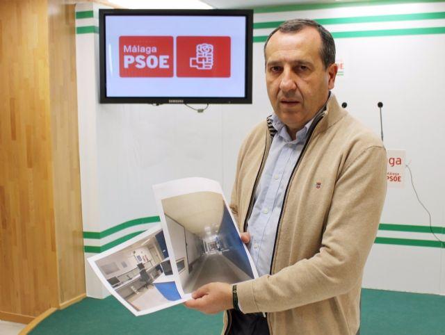 José Luis Ruiz Espejo, secretario general del PSOE de Málaga, en rueda de prensa