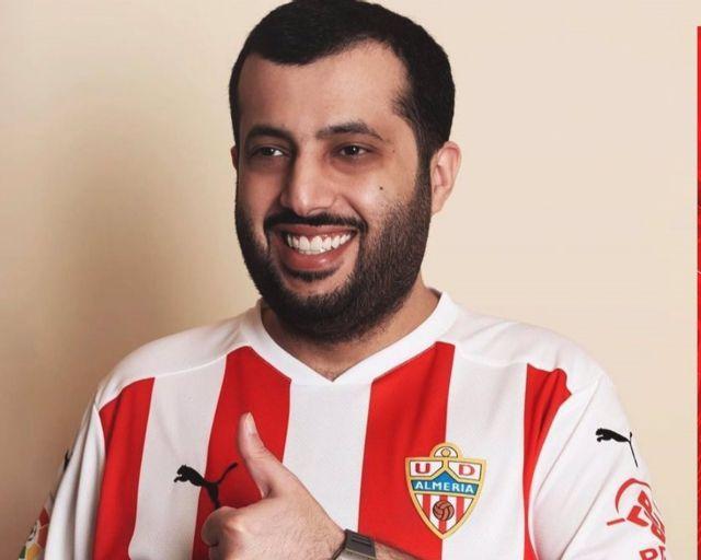 El dueño del Almería, Turki Al-Sheikh