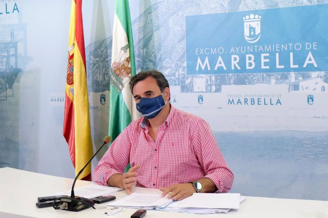 El portavoz municipal de Marbella, Félix Romero