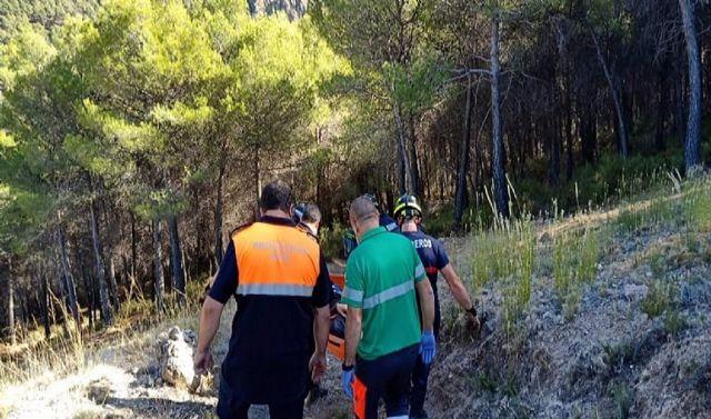 Rescate de una senderista herida en Laujar de Andarax (Almería)
