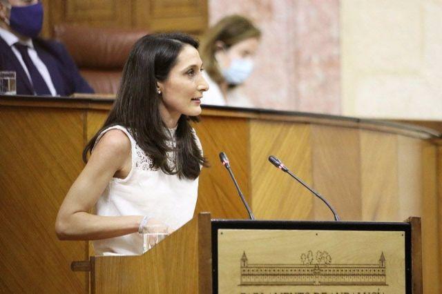 La portavoz adjunta de Ciudadanos (Cs) en el Parlamento andaluz, Mónica Moreno