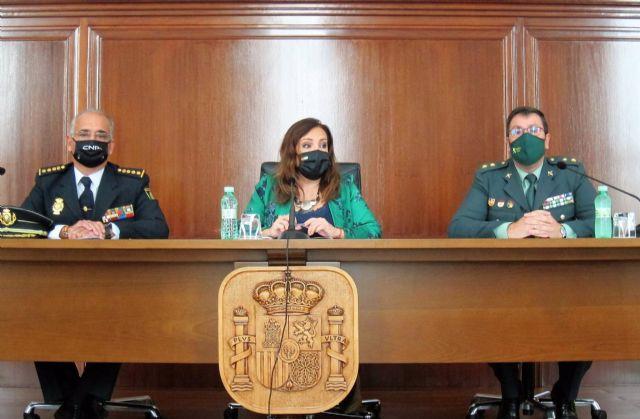 Amaya, Madueño y Lozano informan sobre la operación antidroga