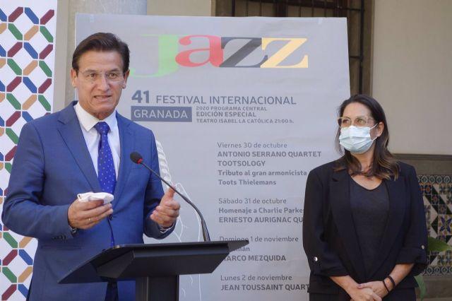 Presentación de la 41 edición del Festival Internacional de Jazz de Granada