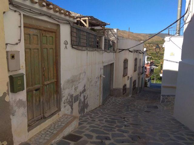 Una calle del municipio de Suflí (Almería)