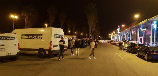 Actuación policial en Cádiz
