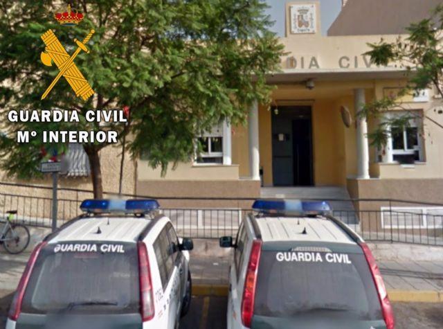 Efectivos de la Guardia Civil en la provincia de Almería