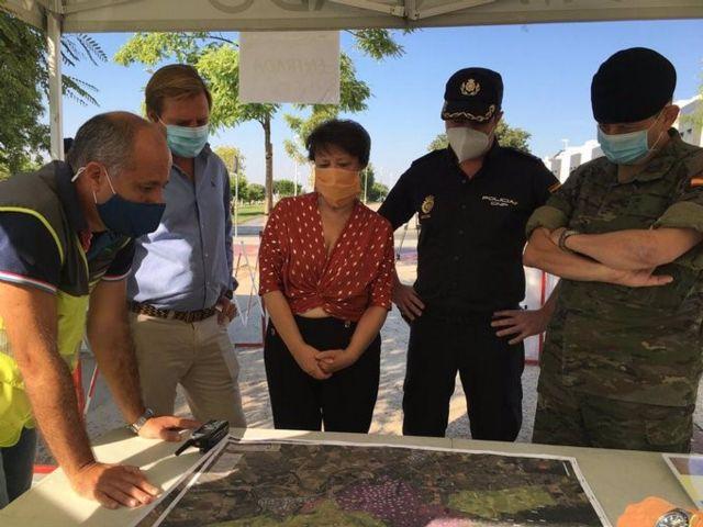 Efectivos del Ejército participan en la búsqueda del anciano desaparecido en Córdoba