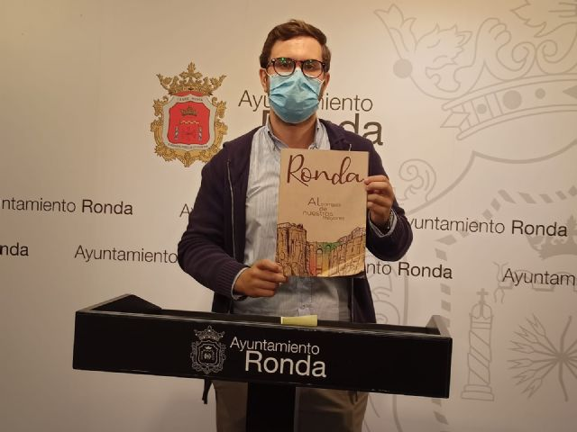 El delegado municipal de Cultura, Ángel Martínez