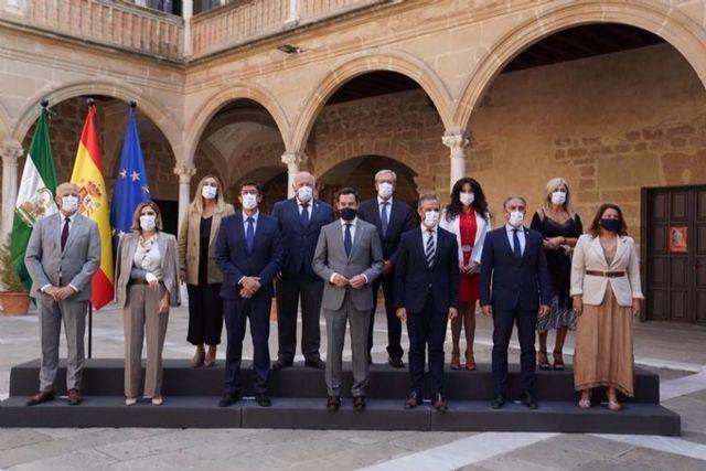 El Consejo de Gobierno de la Junta se ha reunido este martes en Úbeda