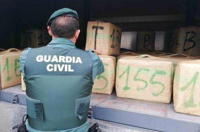 Droga alijada por la Guardia Civil