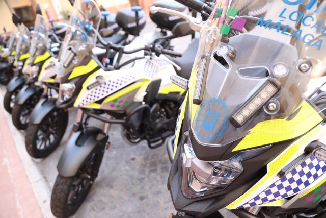 Nuevas motocicletas de la Policía Local de Málaga