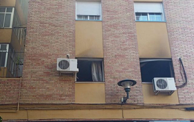 Un incendio en un piso de Málaga capital