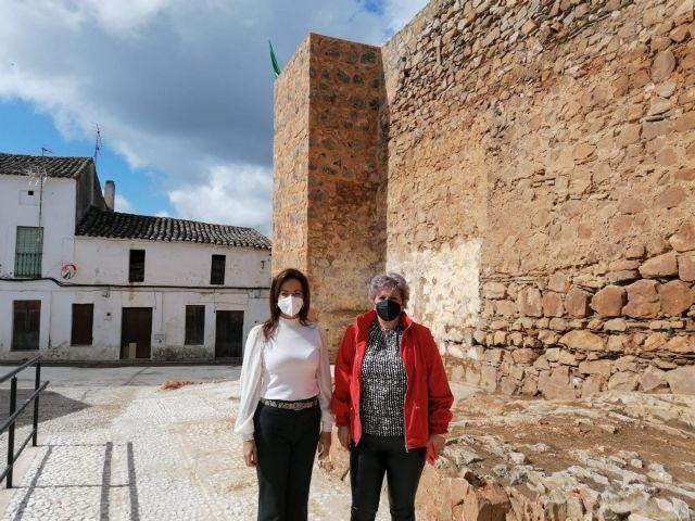Visita de la delegada de Turismo a Cumbres de San Bartolomé