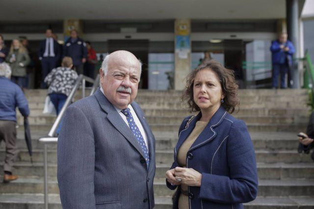 Catalina García en una imagen de archivo, junto a Jesús Aguirre. - María José López - Europa Press