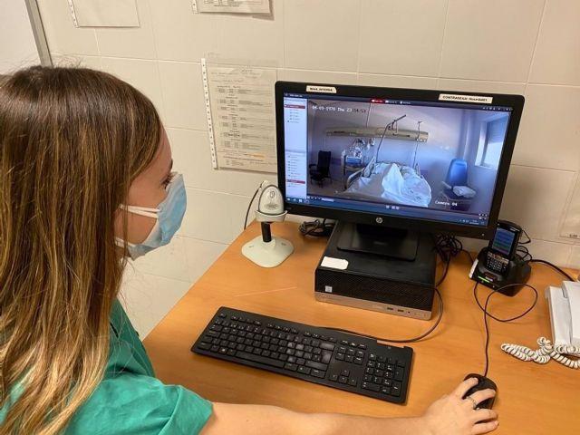 Hospital de Antequera incorpora sistema videovigilancia habitaciones de pacientes COVID
