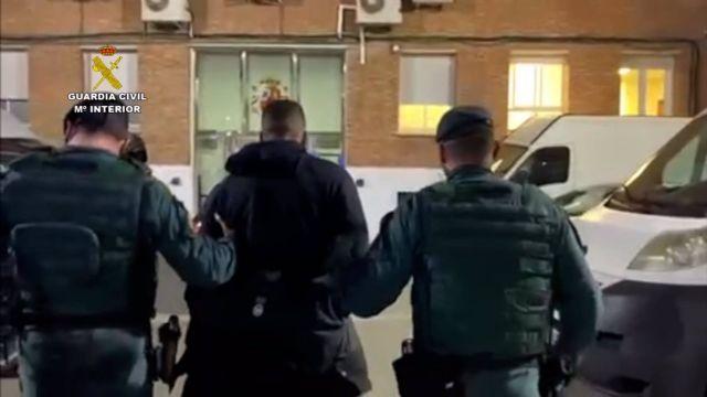 Detención El Melillero por la Guardia Civil en Mijas