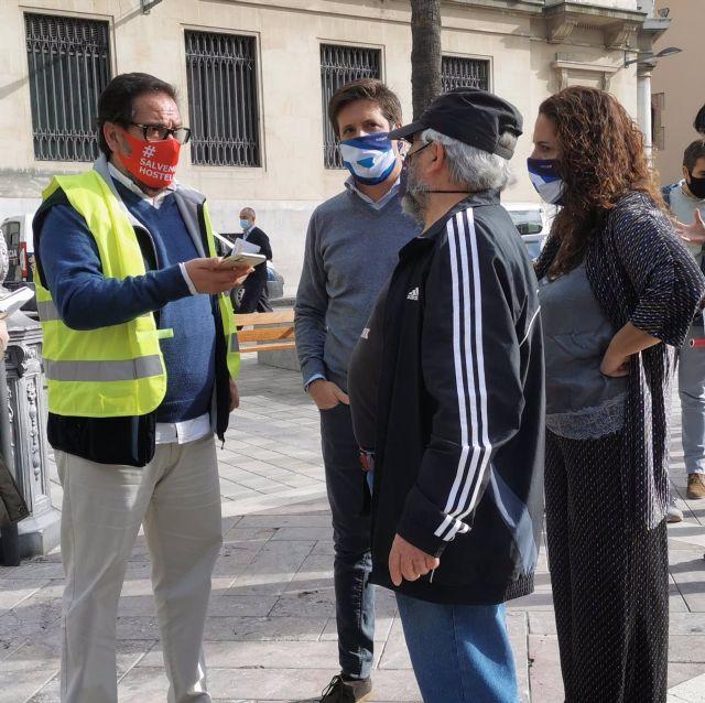El portavoz de Ciudadanos en el Ayuntamiento de Huelva, Guillermo García de Longoria.