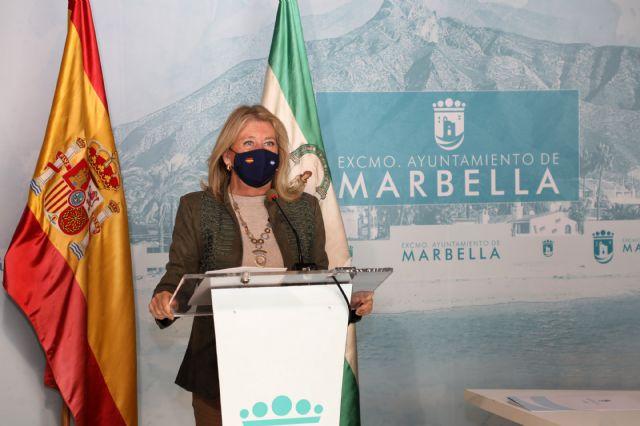 La alcaldesa, Ángeles Muñoz