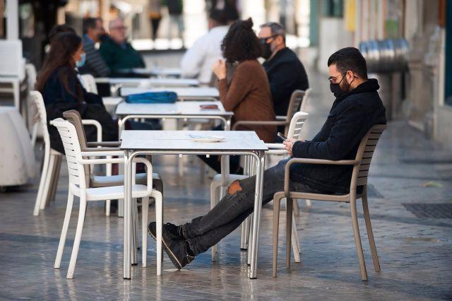 Consumidores de terrazas, bares y cafeterías de Málaga