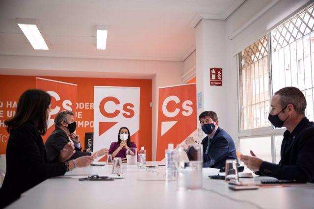Reunión de constitución del Comité Autonómico de Cs en Andalucía.