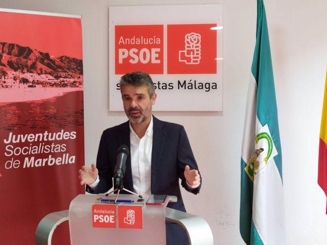 El portavoz del PSOE en la Diputación de Málaga, José Bernal